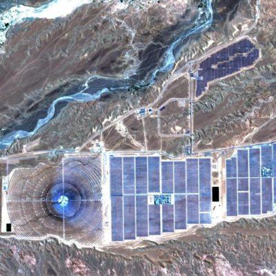 Noor 1 solar farm